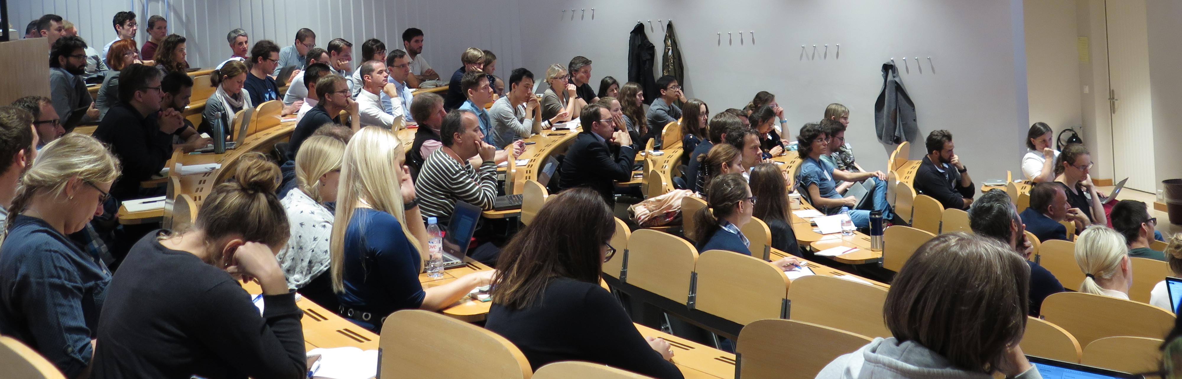 Audience of the Kickoff Workshop